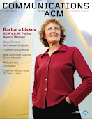 Barbara Liskov: ACM's A.M. Turing Award Winner
